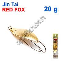 Блесна незацепляйка (одинарный крючок) Jin Tai Red Fox 6009-06D 20g 02