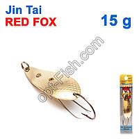 Блесна незацепляйка (одинарный крючок) Jin Tai Red Fox 6009-11D 15g 02