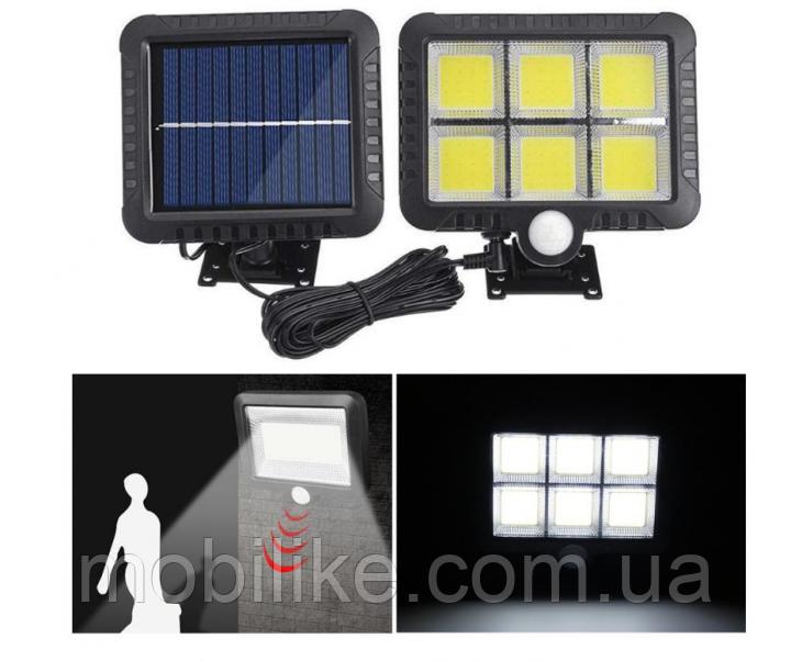 Світильник на сонячній батареї і з пультом Street Light BL 128-6COB
