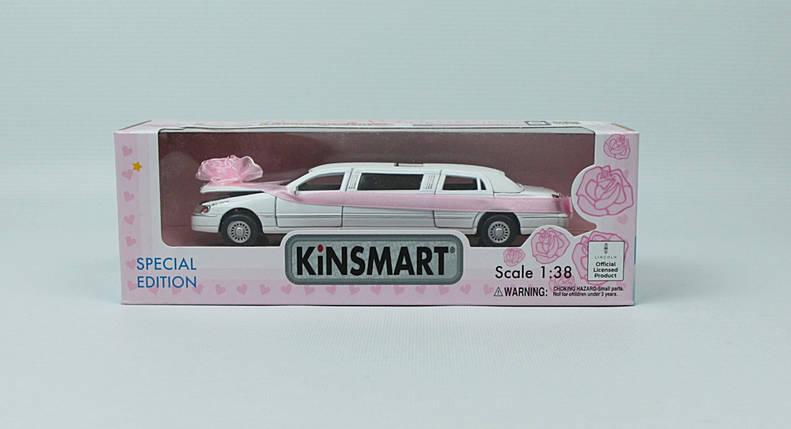 "KINSMART Мет. машина ""Lincoln Свадебный"", фото 2"
