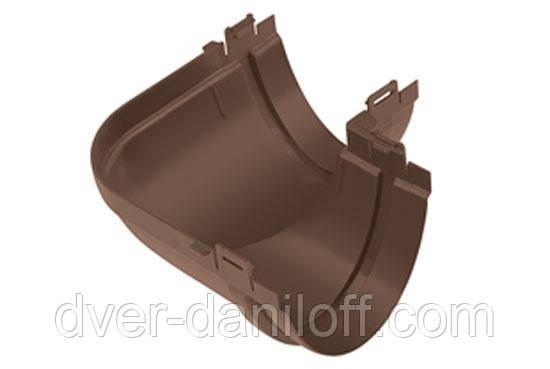 Кут жолоба Альта-Профіль Стандарт 90 градусів 115 мм коричневий, фото 2