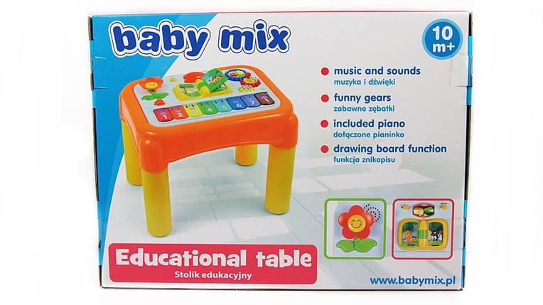 BABY MIX Муз. столик розвиваючий в коробці, фото 2