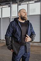 """Мужская весенняя куртка сине-черная Intruder """"SoftShell light"""""""