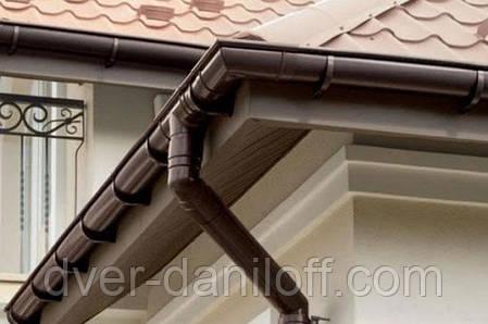Хомут трубы Альта-Профиль Стандарт 74 мм коричневый, фото 2
