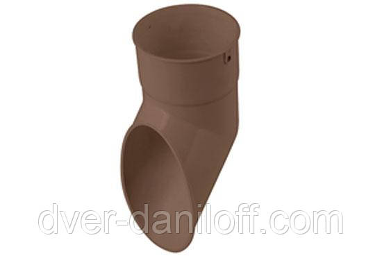 Слив трубы Альта-Профиль Стандарт 74 мм коричневый