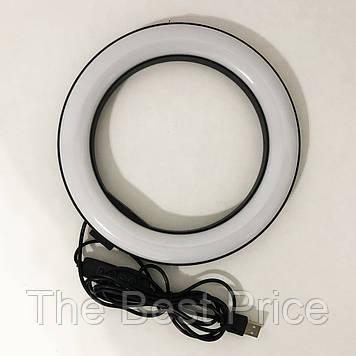 Кільцева лампа 20 см (USB, 8Вт, 3200-5500К)