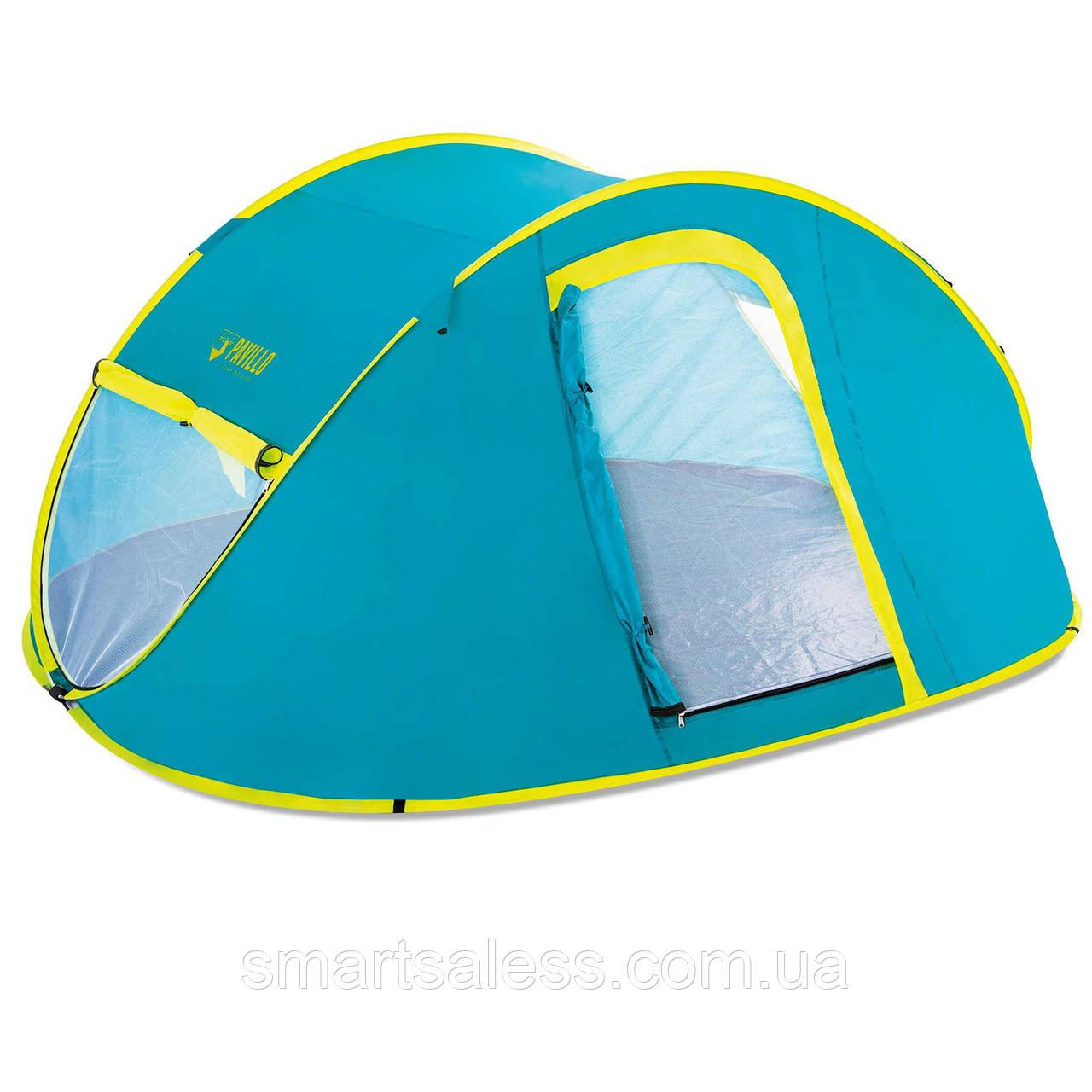 Четырехместная палатка Pavillo Bestway 68087 «Cool Mount 4», 240 х 210 х 100 см