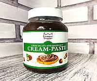 Кремовая Паста шоколадно-ореховая 0,5 кг. банка ТМ Галицкие традиции, фото 1