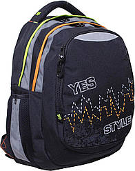 "Рюкзак подростковый YES  Т-22 ""Pulse"", 40*34*24см"