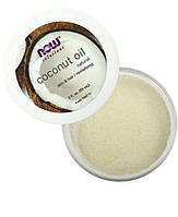 Натуральное кокосовое масло Now Foods Solutions coconut oil 89 мл