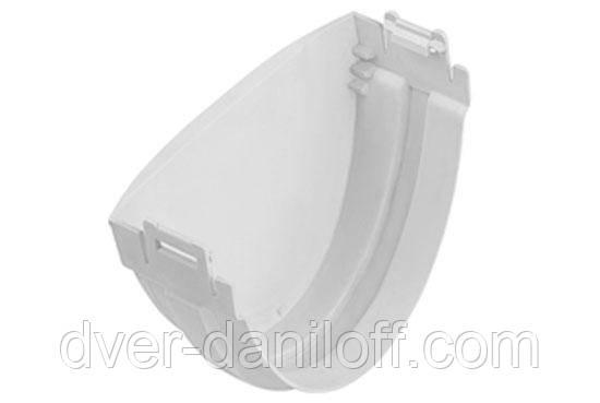 Заглушка желоба Альта-Профиль Стандарт 115 мм белый, фото 2