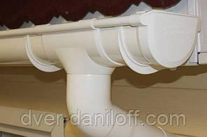Хомут трубы Альта-Профиль Стандарт 74 мм белый, фото 2