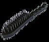Щітка металева з пластмасовою ручкою 6-рядна чорна