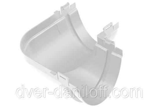 Угол желоба Альта-Профиль Стандарт 90 градусов 115 мм белый, фото 2