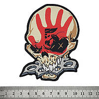 """НАШИВКА FIVE FINGER DEATH PUNCH """"KNUCKLEHEAD"""""""