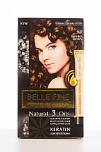 BELLE'FINE Фарба для волосся 4.0 Натурально-коричневий