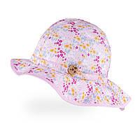 Панамка для девочек TuTu арт. 3-005461 (44-46, 48-50) 44-46 см., Розовый