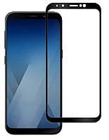 Захисне скло Galaxy A6 + SM-A605 3D Black
