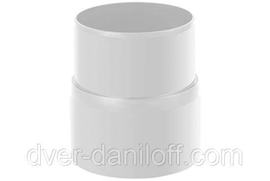 Муфта труби Альта-Профіль Стандарт 74 мм білий