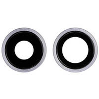 Ободок-безель камери iPhone 11 (комплект 2шт.) Purple
