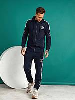 Спортивний костюм чоловічий темно-синій Adidas РВ/-421317