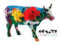 Коллекционная статуэтка корова Georgia O'Cowffe 30 x 9 x 20 см