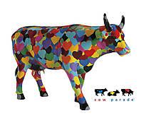 Коллекционная статуэтка корова Heartstanding Cow 30 x 9 x 20 см