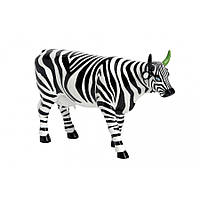 """Коллекционная статуэтка корова """"Striped"""" 30 x 9 x 20 см"""