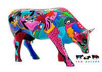 Коллекционная статуэтка корова Partying with P-COW-sso 30 x 9 x 20 см