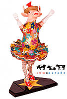 Коллекционная статуэтка корова Dancing Diva 16 х 5 х 11 см