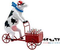 Коллекционная статуэтка корова Lait Triporteur 30 x 9 x 20 см