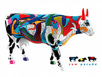 Коллекционная статуэтка корова Ziv's Udderly Cool Cow 30 x 9 x 20 см