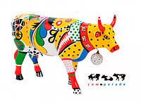 Коллекционная статуэтка корова Kick 30 x 9 x 20 см