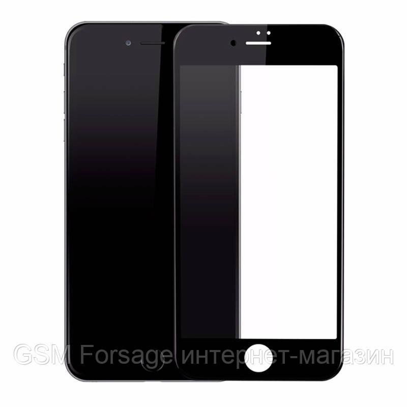 Захисне скло (броня) для iPhone 7 Plus (5.5) чорна рамка 2.5D (0.26 mm)