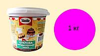 Цукрова паста-мастика малинова (1 кг)