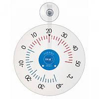 Термометр оконныйTFA 146020 на присоске, пластик, d=153 мм