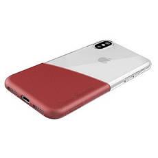 Захисний чохол Nillkin для iPhone X / iPhone XS Half Series Red, фото 2