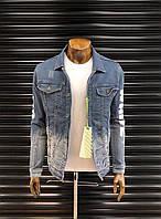ТОП мужская джинсовка Off White