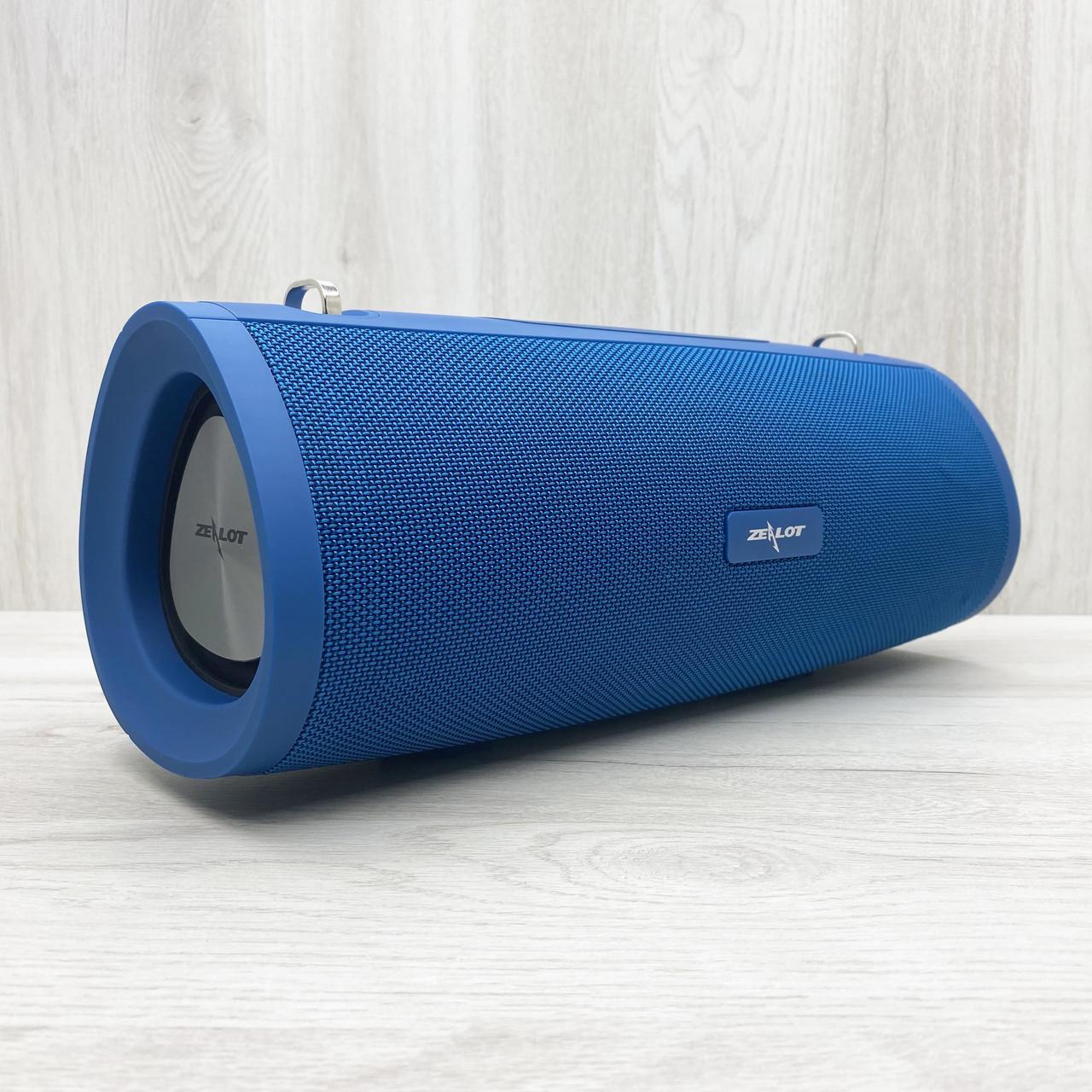 Портативная колонка ZEALOT S39 (Синяя)