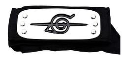 Пов'язка Наруто з символікою Села Прихованої В Листі - Коноху, 95 см
