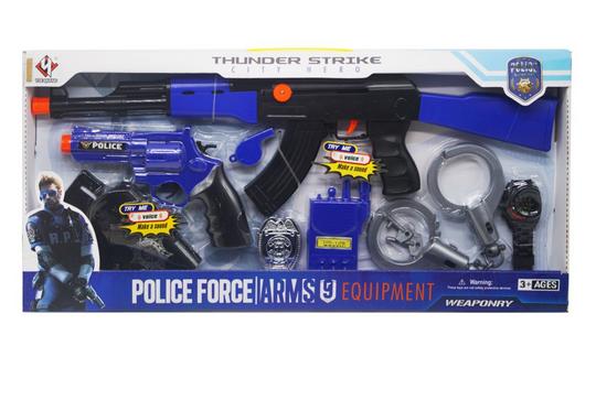 Игровой детский набор военного. Детское игрушечное оружие