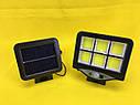 Світильник на сонячній батареї і з пультом Street Light BL 128-6COB, фото 7