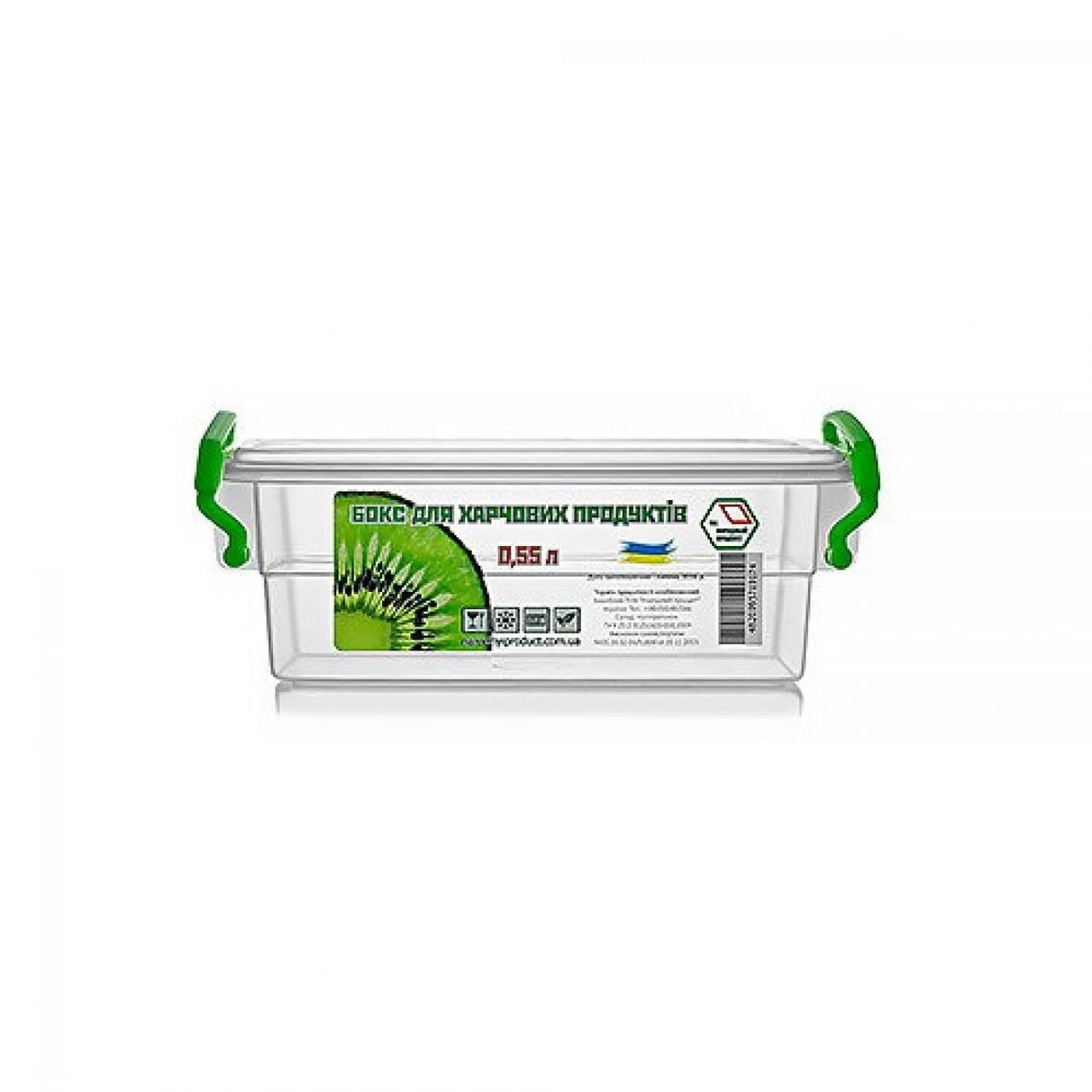 Контейнер для харч. прод. 0,55 л з ручками 11х15,5х6см №NP-51/0174