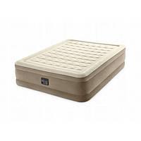 Надувная кровать Intex 64428 со встроенным насосом (203х152х46 см)