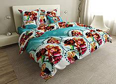 Детский комплект постельного белья 150*220 хлопок (17011) TM KRISPOL Украина
