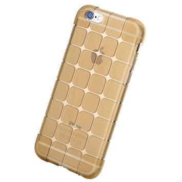 Захисний чохол Rock для iPhone 6 / iPhone 6S Cubee Series Transparent-Gold, фото 2