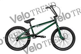 Трюковый велосипед  ВМХ-5 20 ДЮЙМОВ зеленый