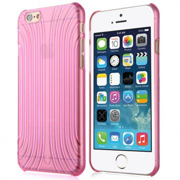 Захисний чохол Baseus для Apple iPhone 6 / iPhone 6S Shell Series Rose-Red