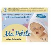 Детское мыло натуральное Kappus Ma Petite 100г  Германия