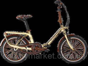 """Эксклюзивный женский велосипед Graziella Gold Edition 3S 20"""""""